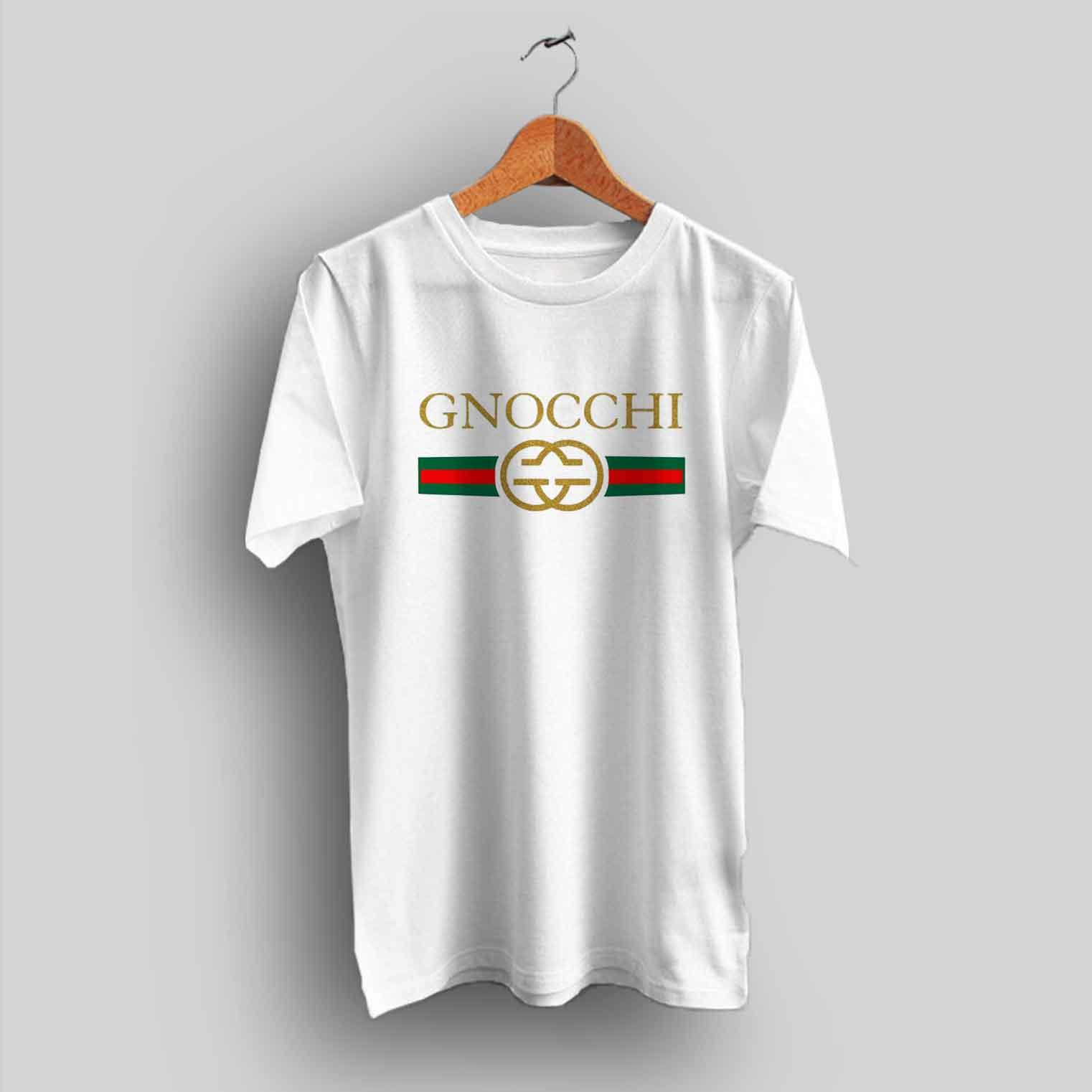 For Sale Gnocchi Vintage GC Parody T Shirt Cheap Urban Clothing.