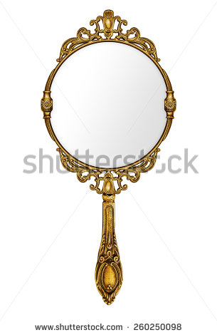Hand Mirror Stock Images, Royalty.