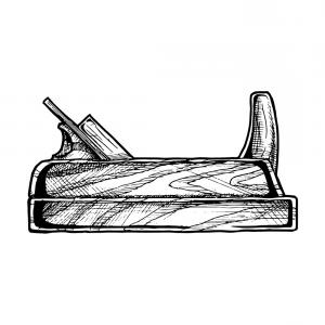 Vintage hand planer clipart clipart images gallery for free.