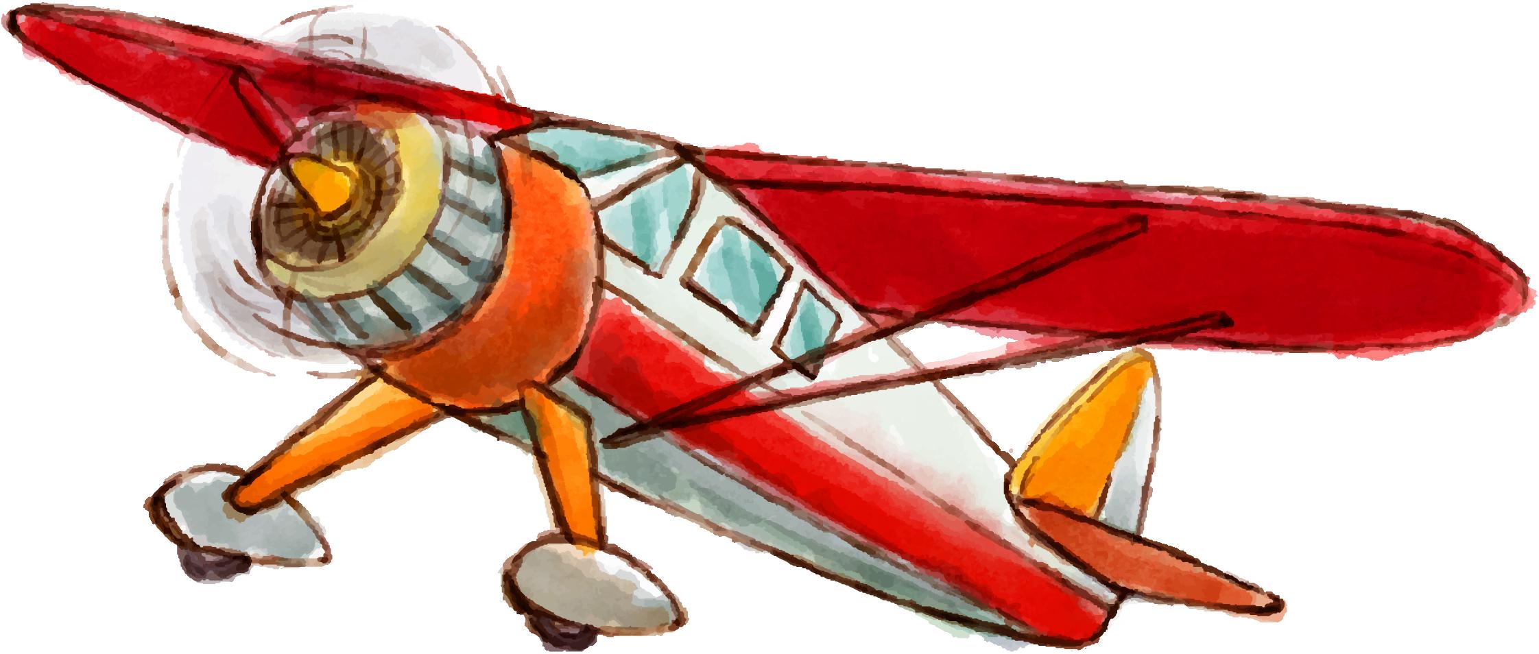 Airplane Light aircraft Euclidean vector.