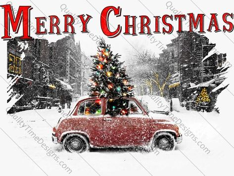 Merry Christmas Clip art transparent background Sublimation.