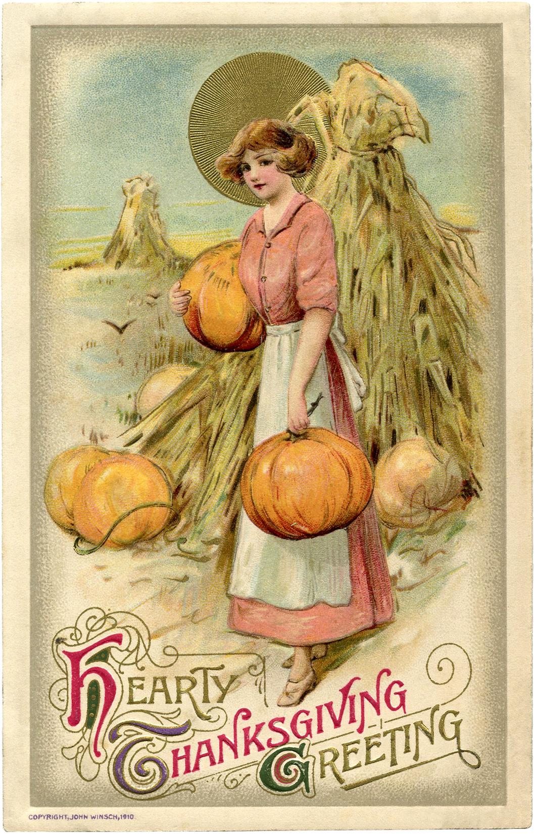 6 Thanksgiving Pumpkin Clipart.