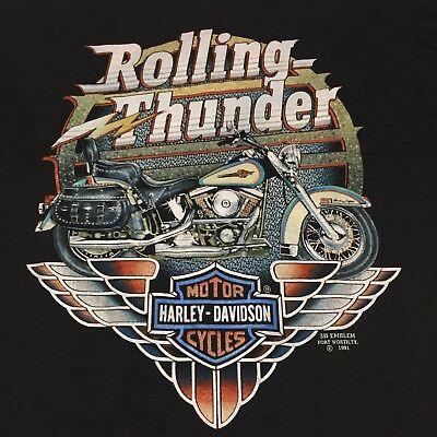 Vintage Harley Davidson 3D Emblem XL T.