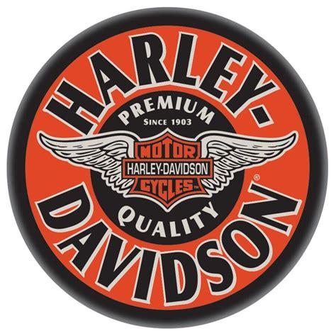 Vintage harley davidson Logos.