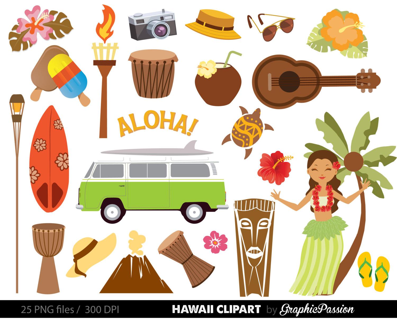 62+ Hawaiian Clipart.