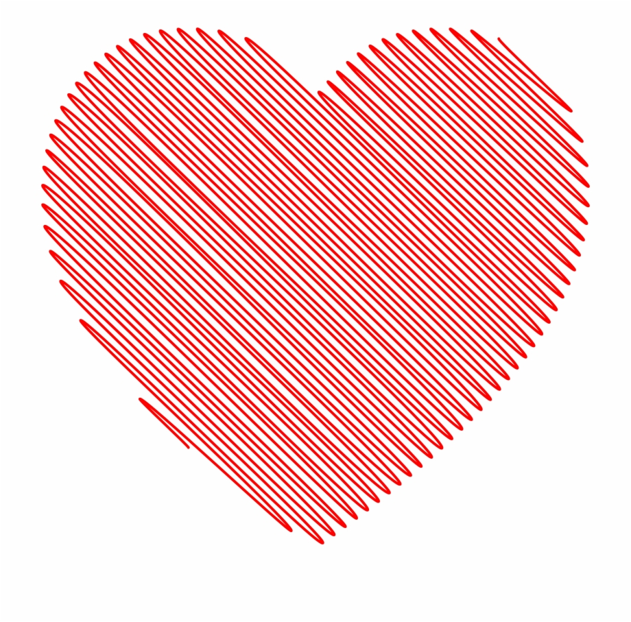 This Free Icons Png Design Of Scribble Heart.