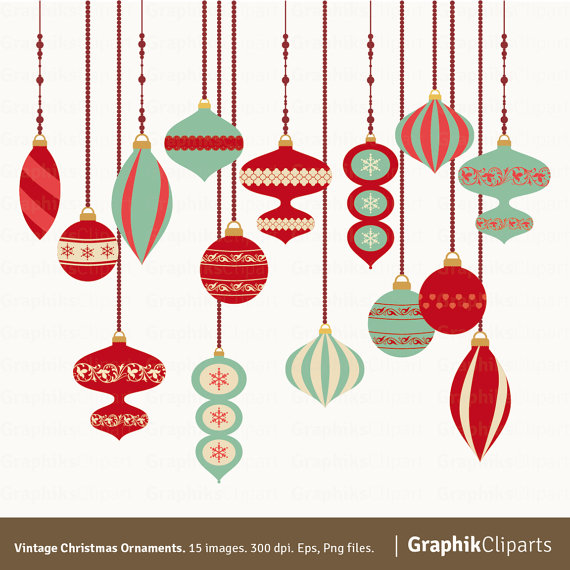 Free Vintage Christmas Clipart.