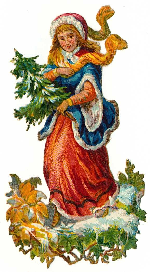 Free Vintage Christmas Cliparts, Download Free Clip Art.