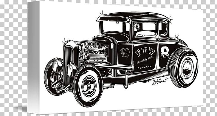 Antique car Hot rod Vintage car CorelDRAW, Vintage hot rod.