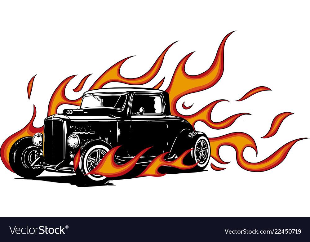 Vintage car hot rod garage hotrods carold.