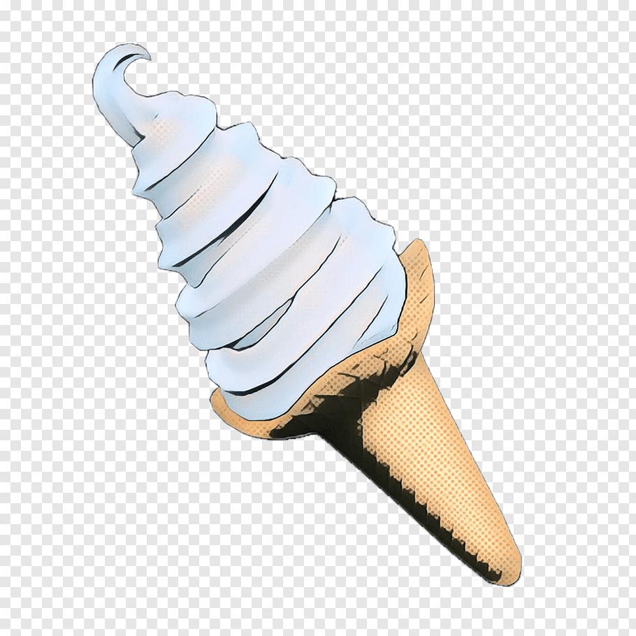 Ice Cream Cone, Pop Art, Retro, Vintage, Ice Cream Cones.