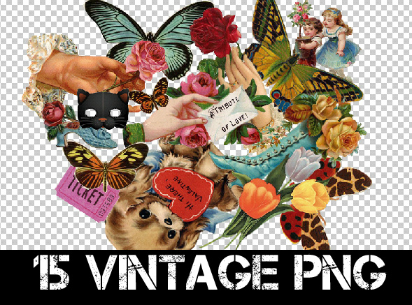 15 VINTAGE PNG + by Discopada on DeviantArt.