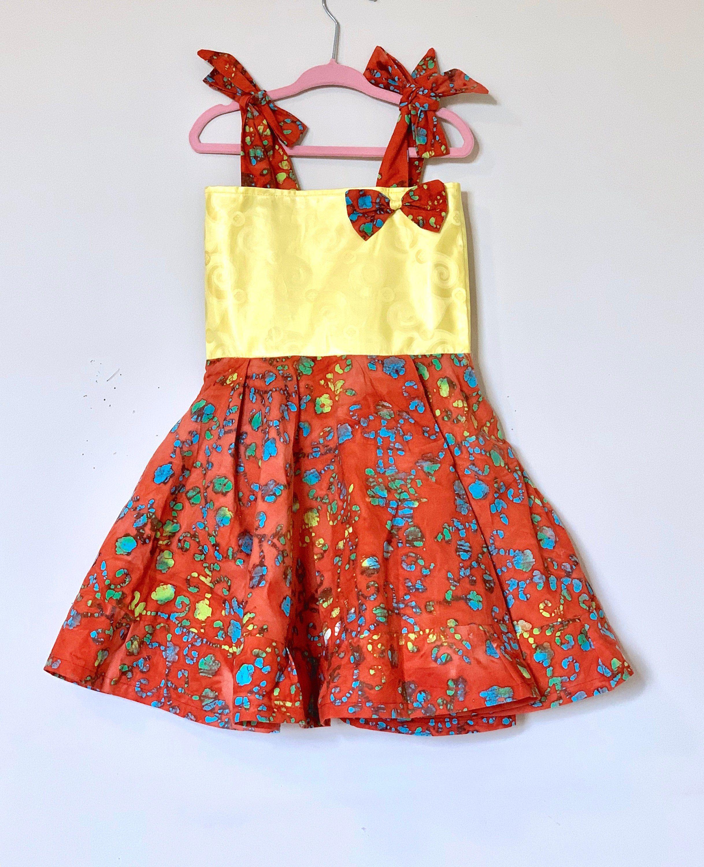 Ankara dress/Ankara baby dress/African kids clothes/African.