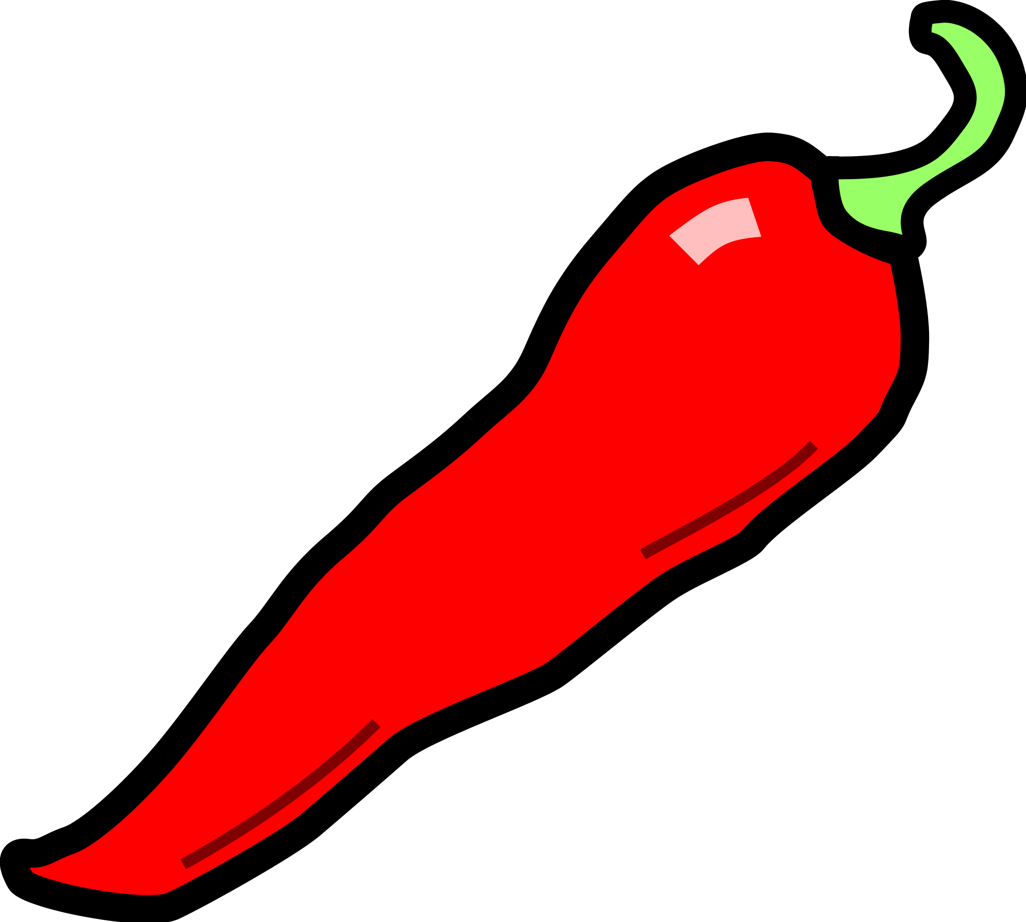 Red Jalapeno Clipart.