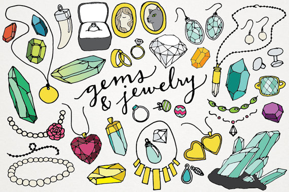 Gems and Jewelry Clipart & Logos.