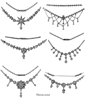 The PORCH & Atelier: Vintage Jewelry clipart~.