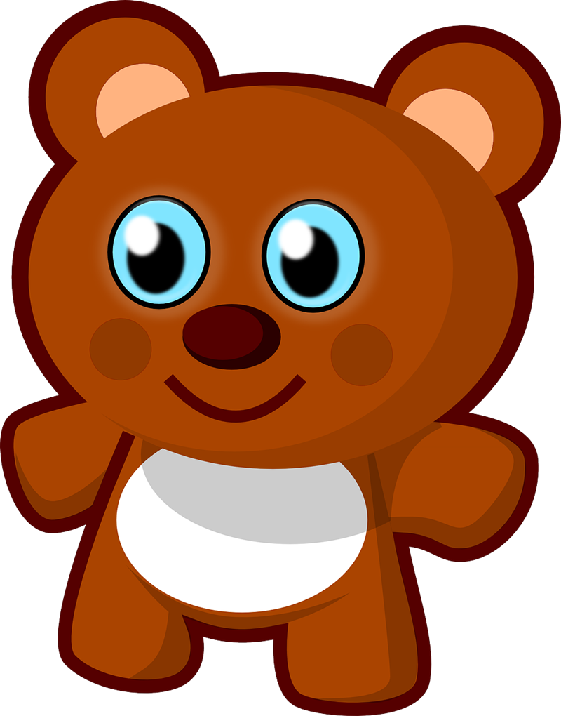 Kawaii clipart bear, Kawaii bear Transparent FREE for.