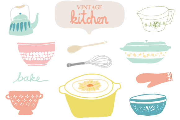 Free Retro Kitchen Cliparts, Download Free Clip Art, Free.