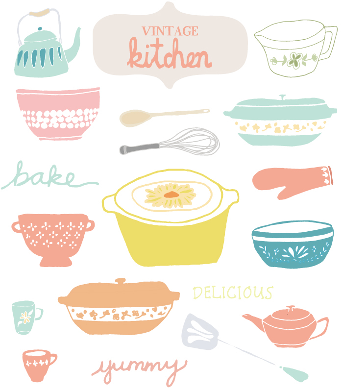 Free Vintage Kitchen Cliparts, Download Free Clip Art, Free.