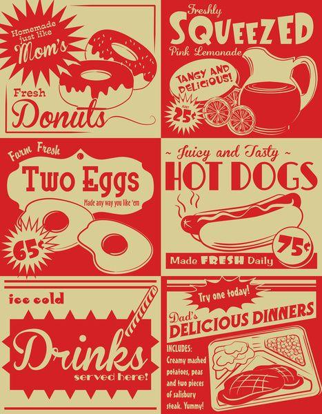 vintage kitchen clipart.