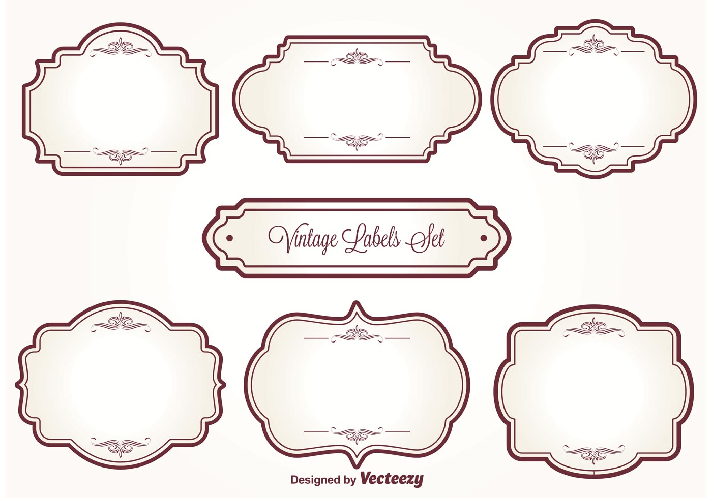 Vintage Label Free Vector Art.