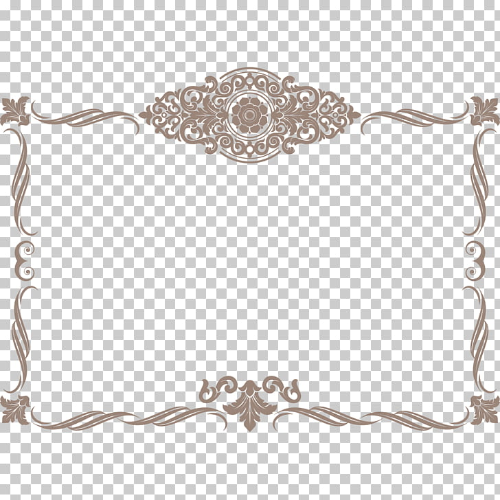 Template Academic certificate, Vintage lace border material.