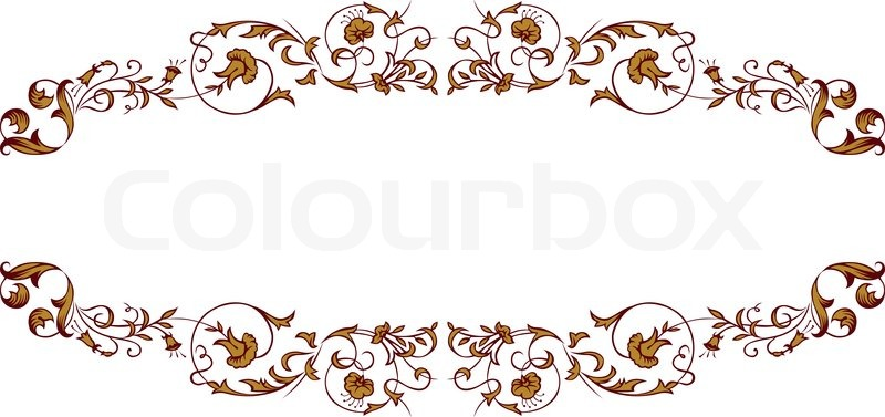 380 Lace Border free clipart.