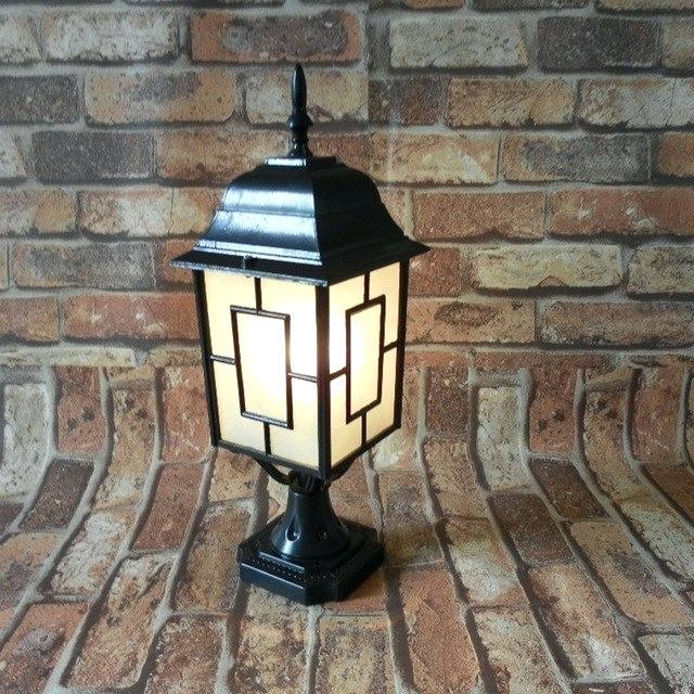 vintage lamp post.