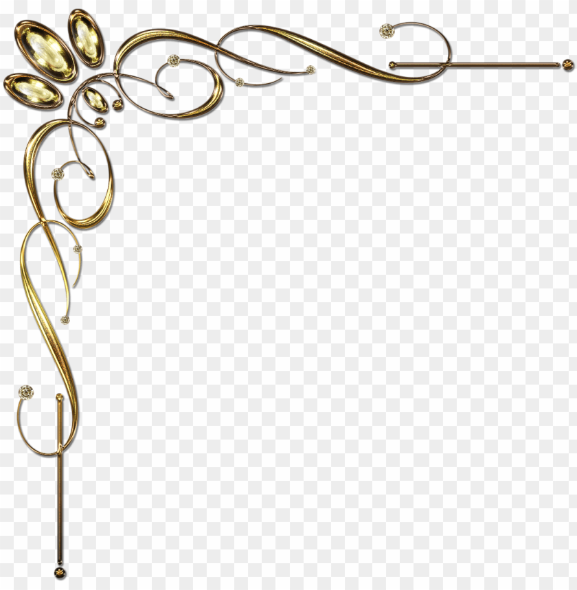 Download vintage corner border design png good galleries.