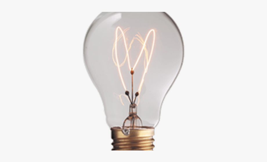 Light Bulb Clipart Transparent Background.