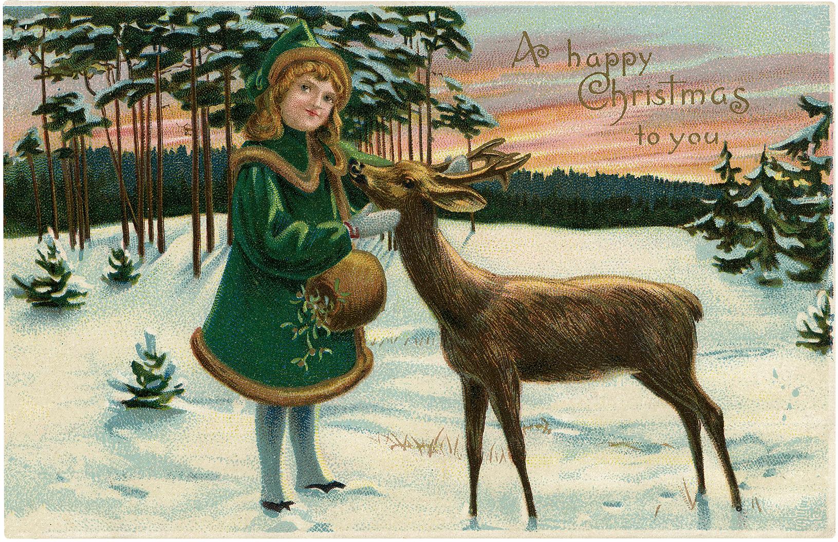 20 Christmas Girl Images!.