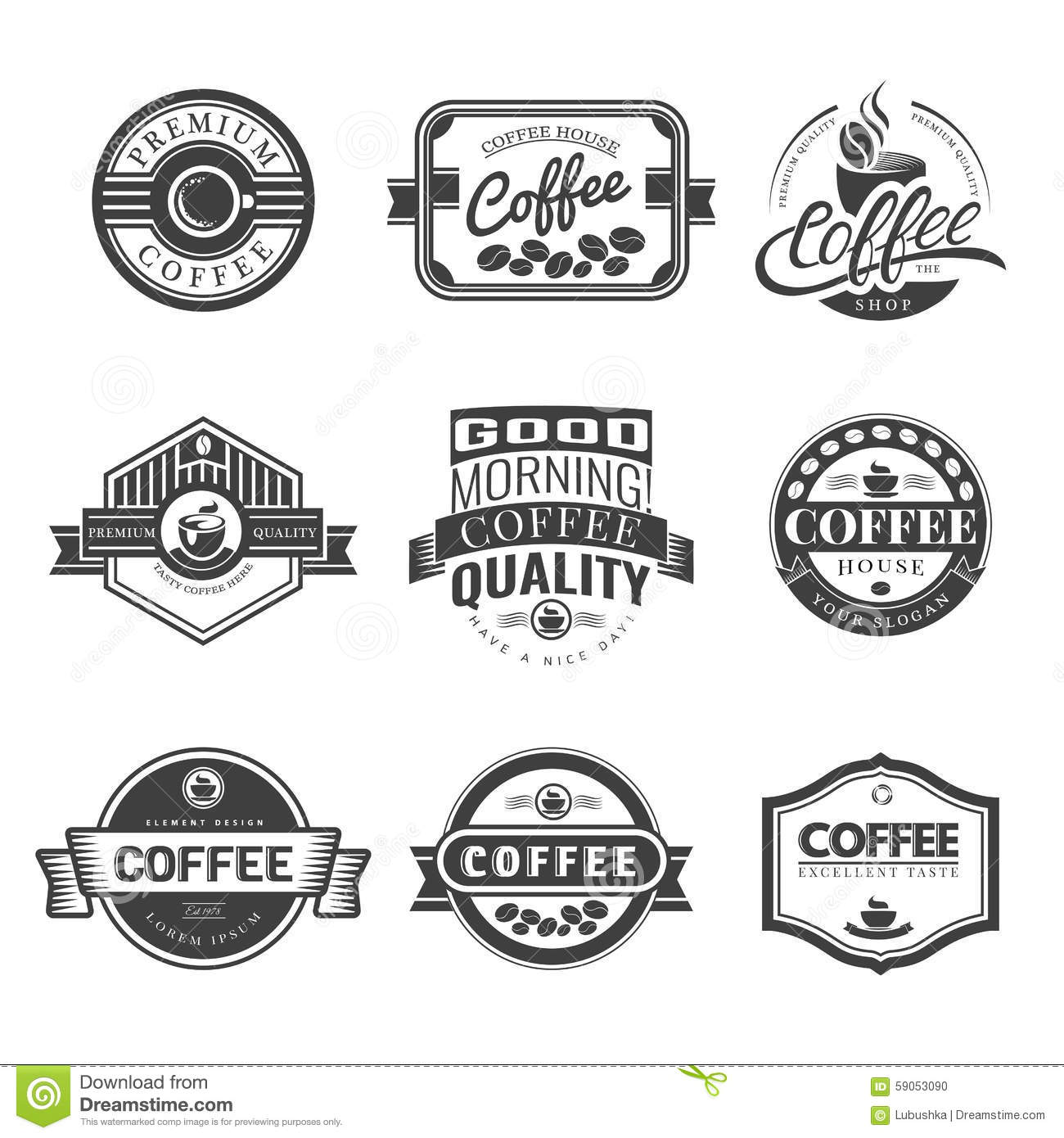 Ristretto Stock Illustrations.
