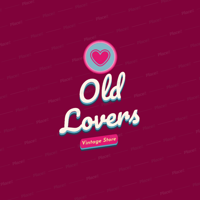 Logo Generator for a Vintage Store 2627g.