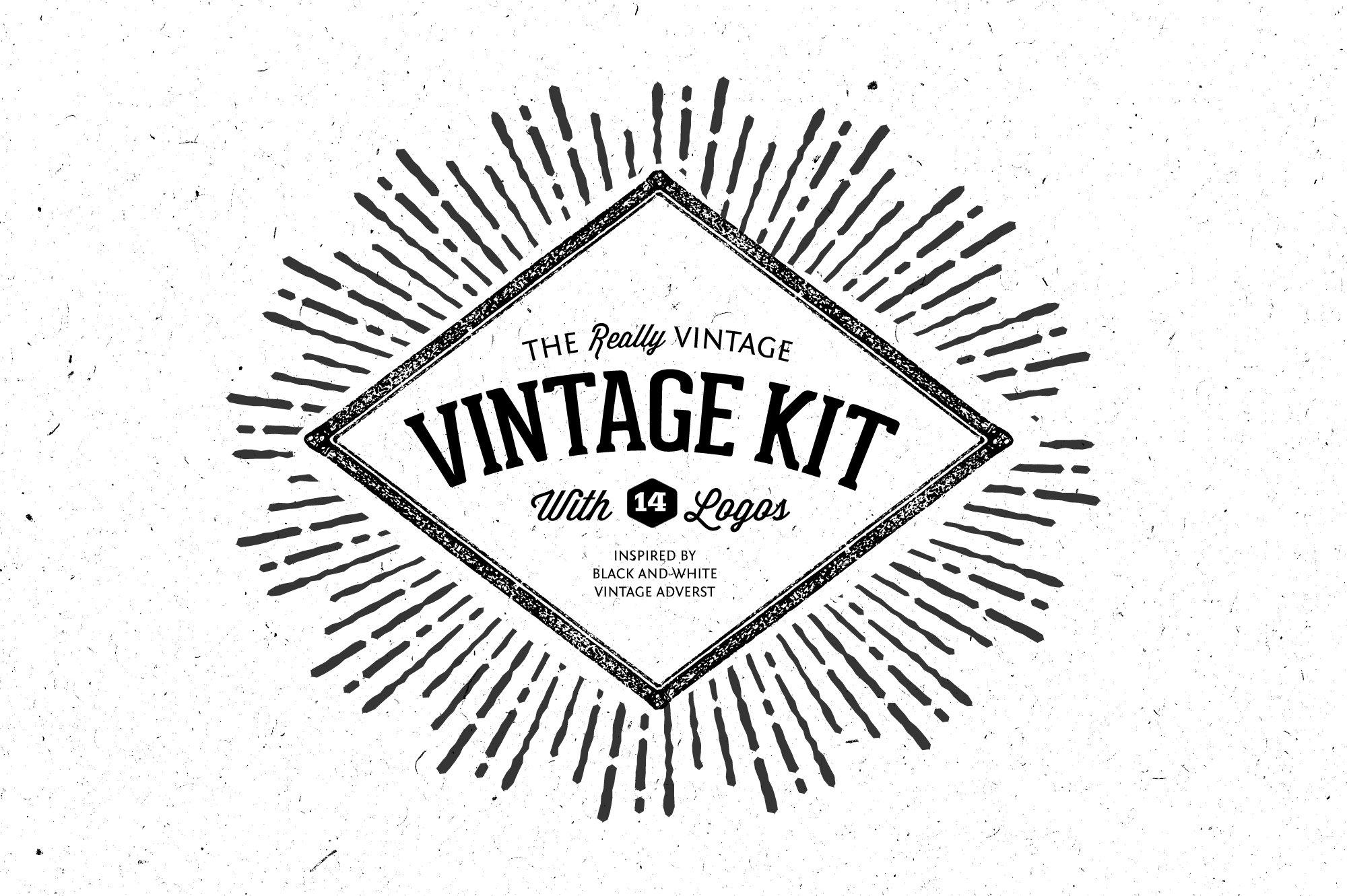 25 Beautiful Vintage Logo Templates ~ Creative Market Blog.