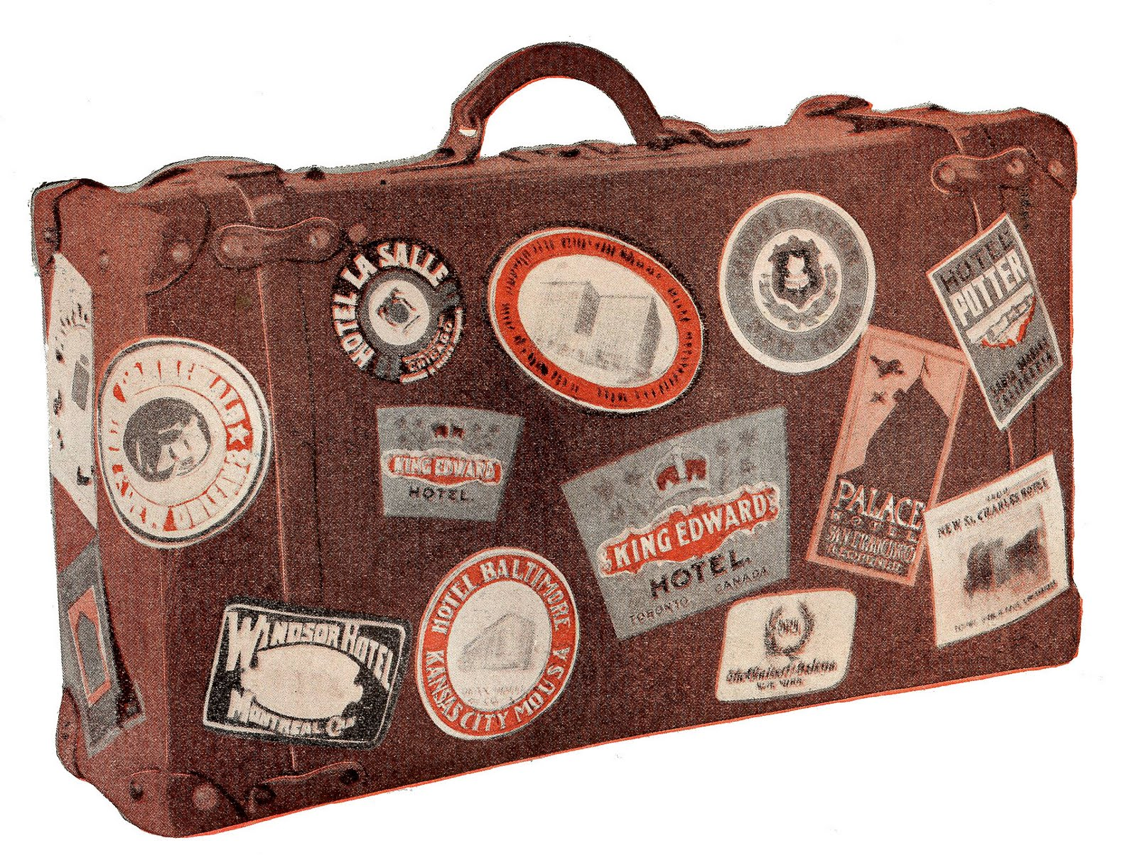 Free Vintage Luggage Cliparts, Download Free Clip Art, Free.