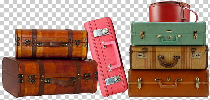 Suitcase Baggage Vintage Clothing Trunk Travel PNG, Clipart.