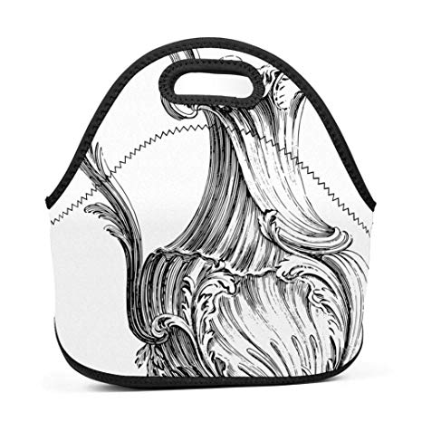 Amazon.com: Neoprene Lunch Tote, Lwbd Insulated Lunch Bag.