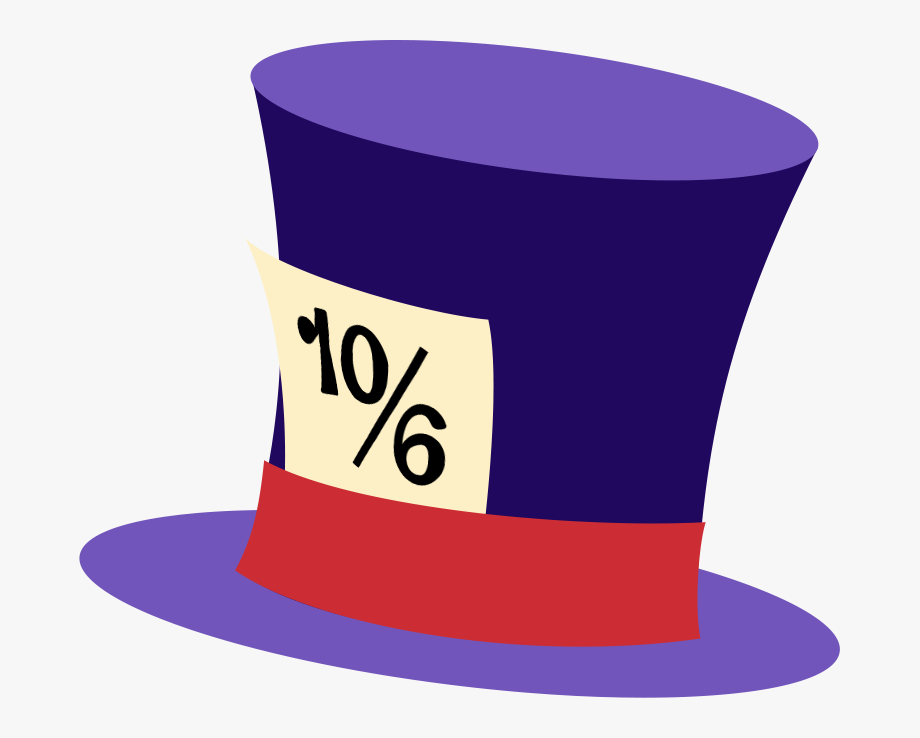 Mad Hatter Hat Clipart , Png Download.