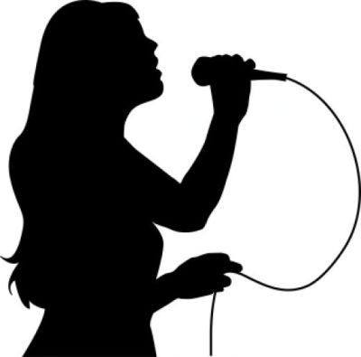Microphone Silhouette Clip Art at GetDrawings.com.