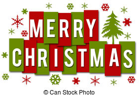 Merry christmas Clipart and Stock Illustrations. 399,095.