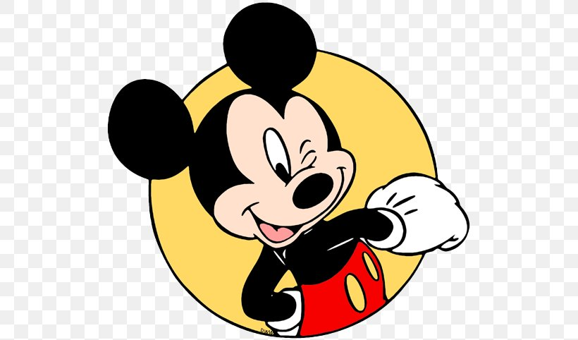 Mickey Mouse Minnie Mouse Clip Art Goofy Wink, PNG.
