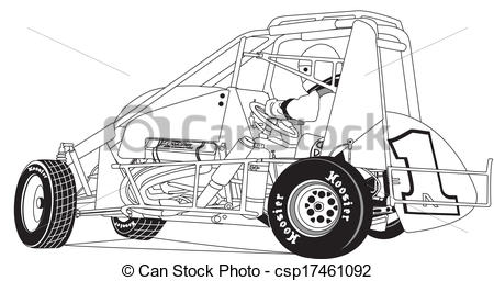 3001 Racing free clipart.