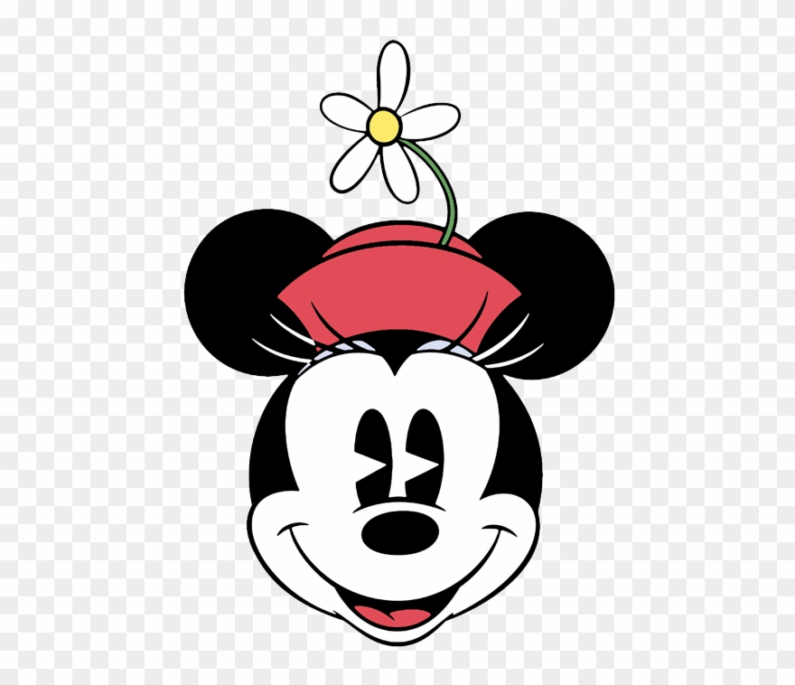 Clip Art Of Disney\'s Classic Minnie Mouse.