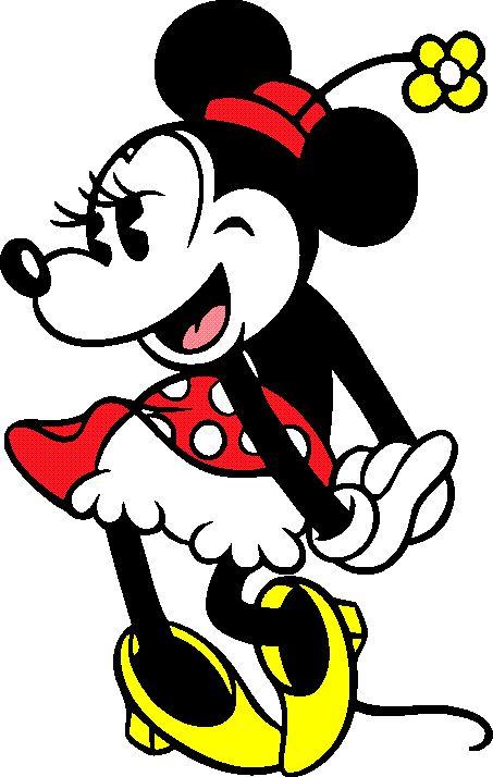Vintage Minnie Mouse Clipart.