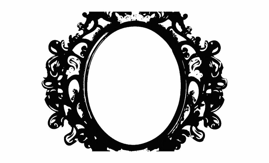 Mirror Clipart Vintage Mirror.