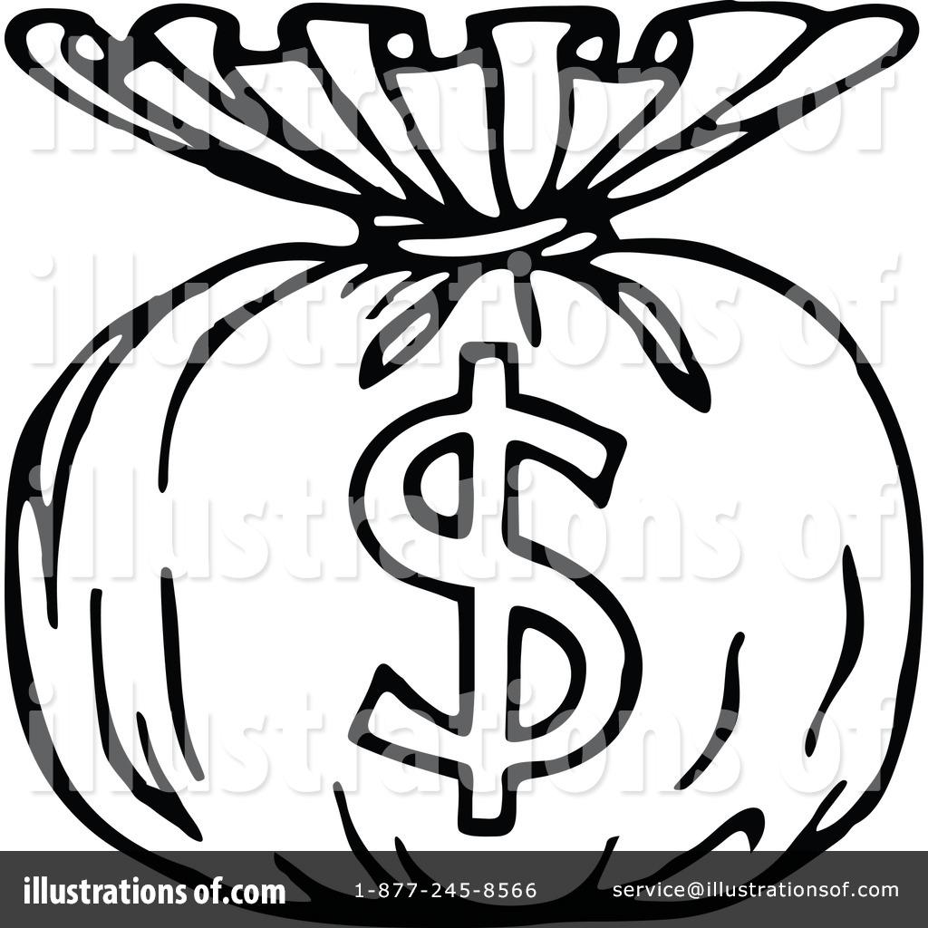 Money Bag Clipart #1137856.