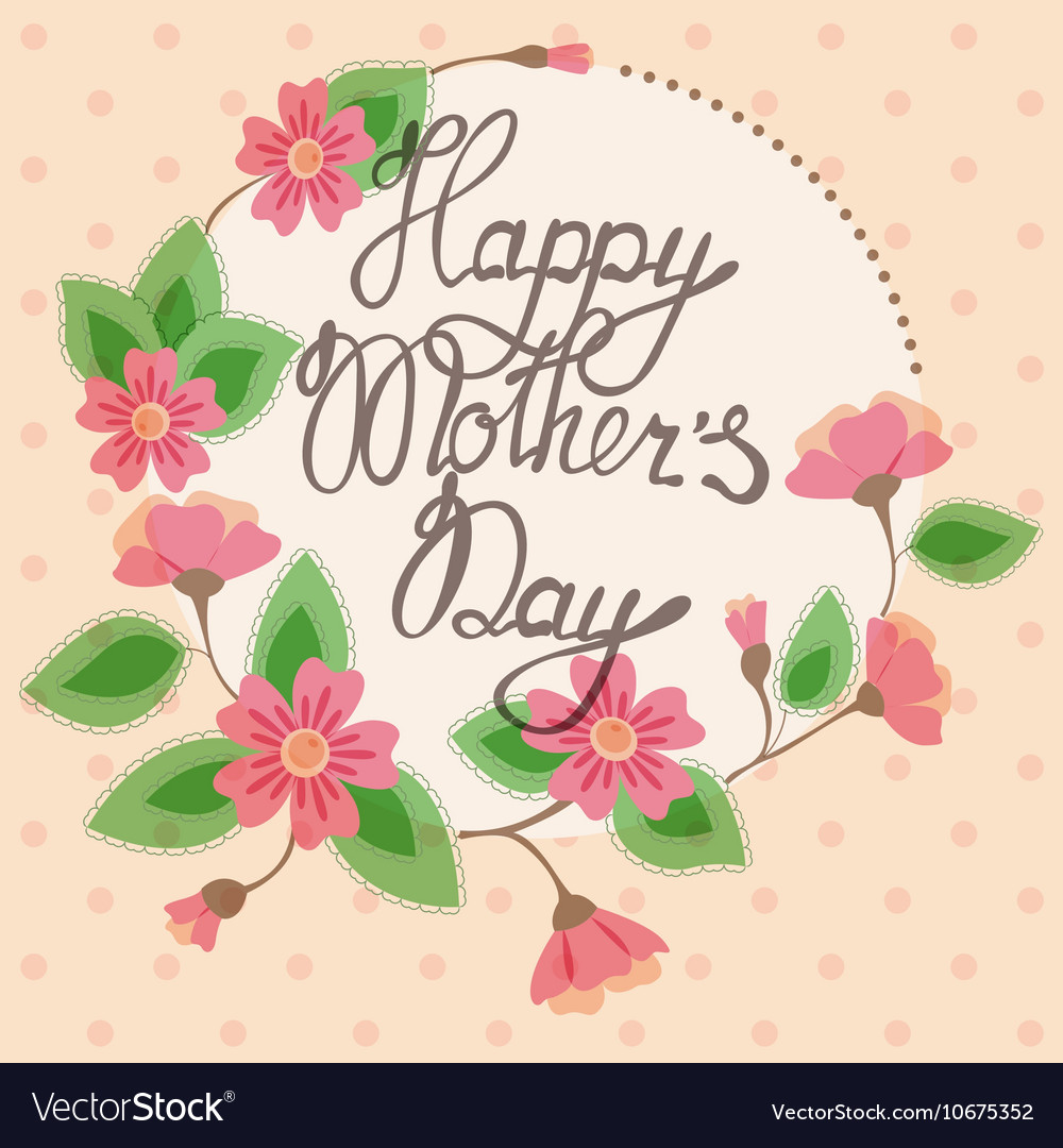 Vintage Mothers Day Clip Art - Mother with Sleeping Child
