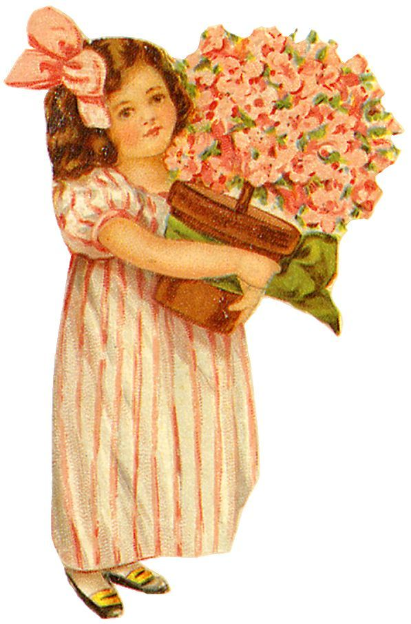 17 Best images about Vintage Mothers Day clip art on Pinterest.