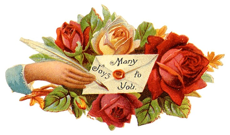 Free Vintage Mothers Day Clip Art.