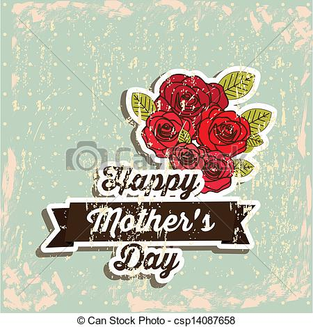 Vintage Mothers Day Clipart.